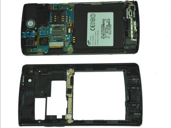Separate the rear case from the phone.