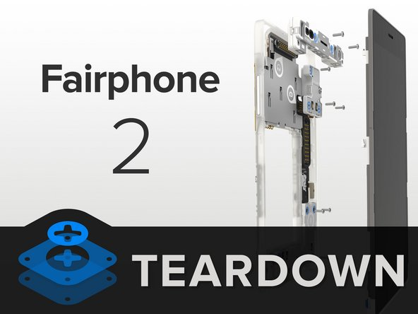 Here we have the second generation of the Fairphone. It's grown in size and in style: