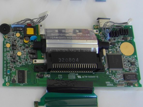 Sega Game Gear Motherboard Replacement