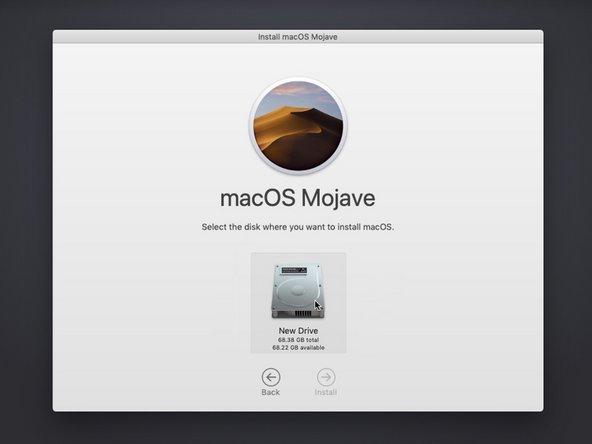 インターネット回復を使用してmacOSを新しいSSDにインストールする方法