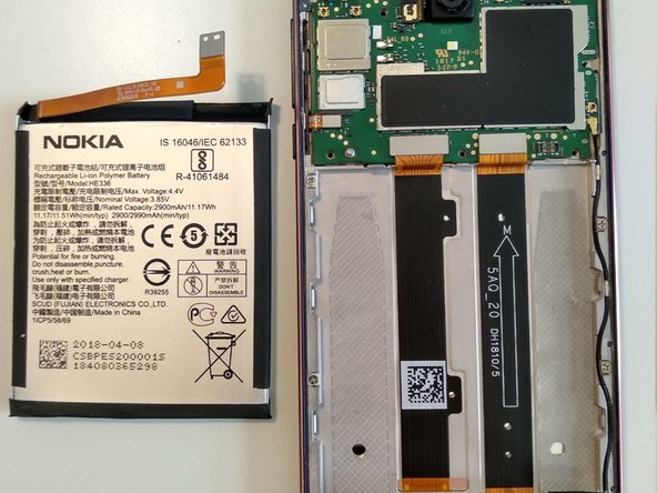 Nokia 3.1 Battery Replacement