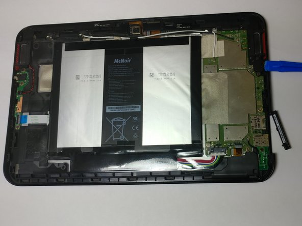Verizon Ellipsis 10 Back Cover Replacement