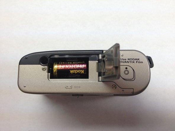 Disassembling Kodak Advantix F350 Battery