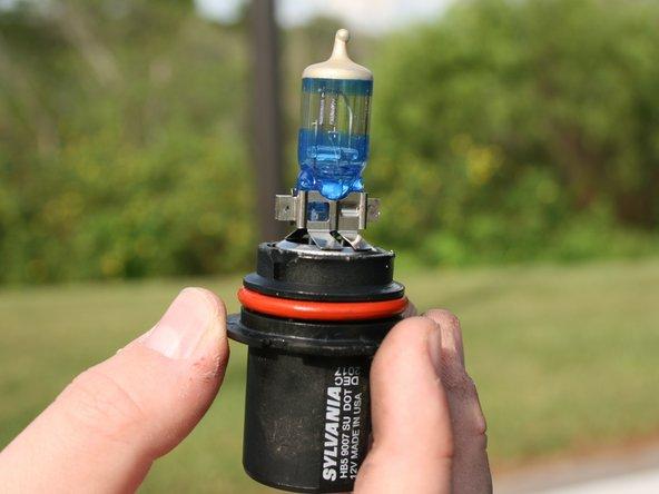 1999-2004 Nissan Xterra  Headlight Bulbs Replacement