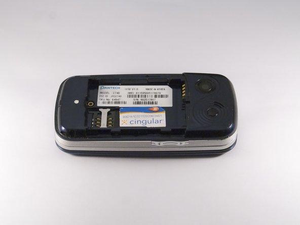 Pantech Matrix SIM Card Replacement
