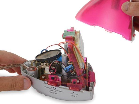 "Timex T132 ""iMac"" Alarm Clock Disassembly"