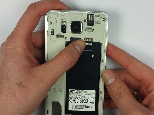 Samsung Galaxy Alpha microSIM Card Replacement