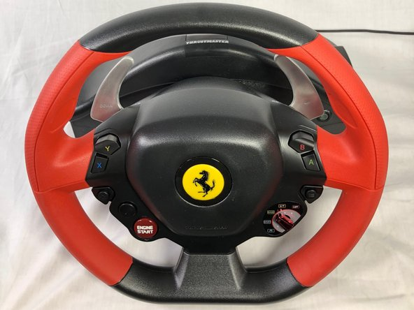 Thustmaster Ferrari 458 Spider Racing Wheel and Pedal Connection Port Replacement