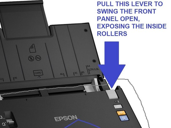 Epson WorkForce DS-510 Color Document Scanner  - clicking sound, mulitple page feed broken