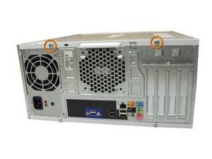 Ouverture du boitier du Dell Inspiron 530