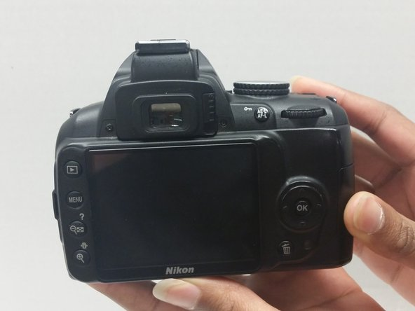 Nikon D3000 LCD Screen Cover Replacement