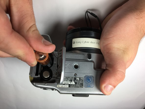 Sony Cyber-Shot DSC-H1 Battery Replacement