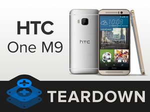 HTC One M9 Teardown