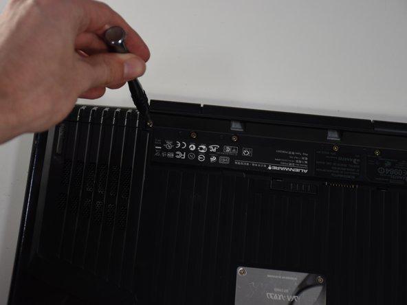 Alienware M15x Compartment Door Replacement