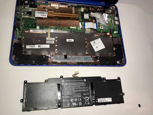 HP Stream 13-c002dx Battery Replacement