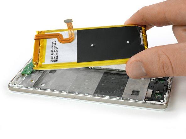 Huawei P8 Lite Vervanging van de batterij