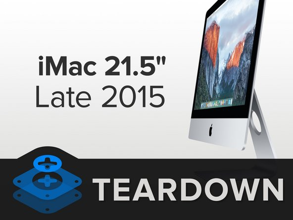 "The 2015 edition of the 21.5"" iMac has some newfangled specs:"