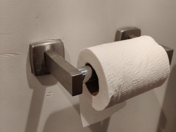 How to Fix a Broken Toilet Paper Holder