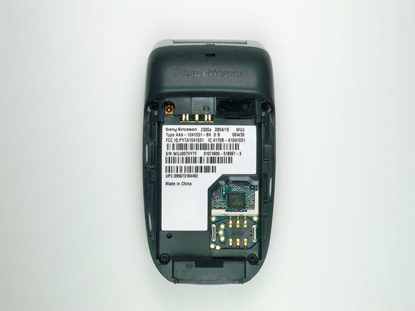 Sony Ericsson z300 Back Dark Grey Case Replacement