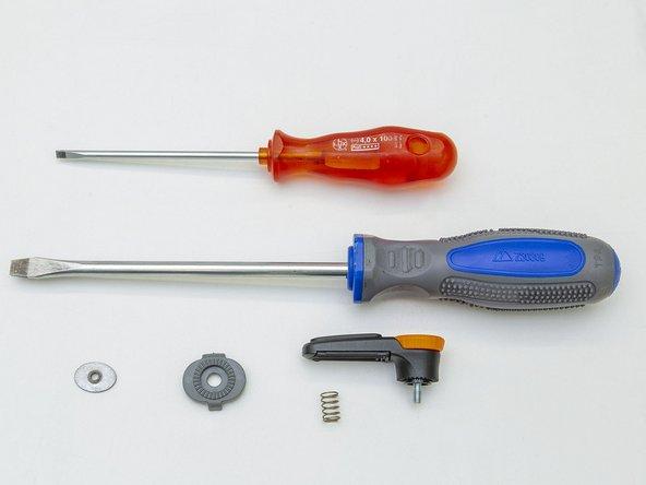 """So ersetze ich einen """"QMR Rail-Hook"""" an einer Radtasche (neue Modelle)"""