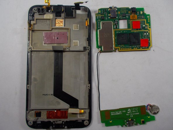 Alcatel One Touch Fierce Front Facing Camera Replacement