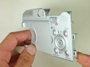 Canon PowerShot A610 Broken Control Buttons Repair
