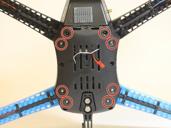 3DR Iris Plus Quadcopter Bottom Shell Replacement