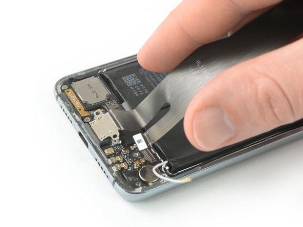 Huawei P20 Vervanging van de oplaadport met hoofdflexkabel