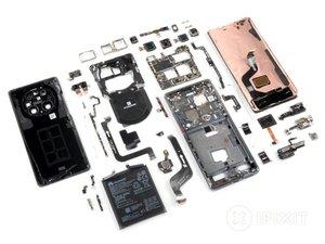 Vue éclatée du Huawei Mate 40 Pro