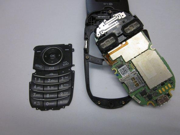 LG VX8350 Repair Keypad Removal
