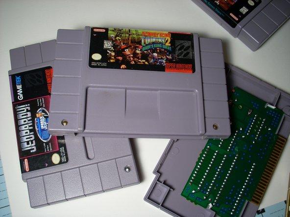 Super Nintendo Cartridge Replacement