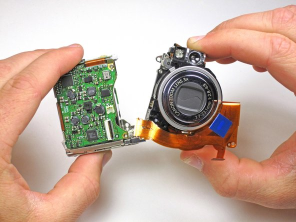 The lens assembly of a camera houses the shutter and lens which allows your camera to take photos.