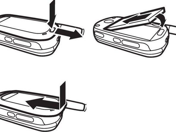 Remplacement de la batterie du Motorola W315