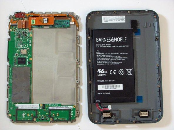 Remplacement de la batterie du Nook HD
