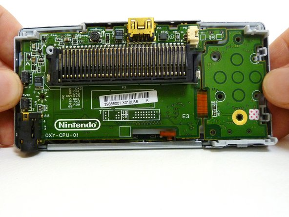 The entire motherboard is now accessible.
