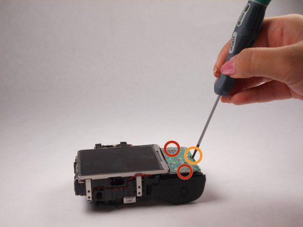 Nikon Coolpix L610 Control Panel Replacement