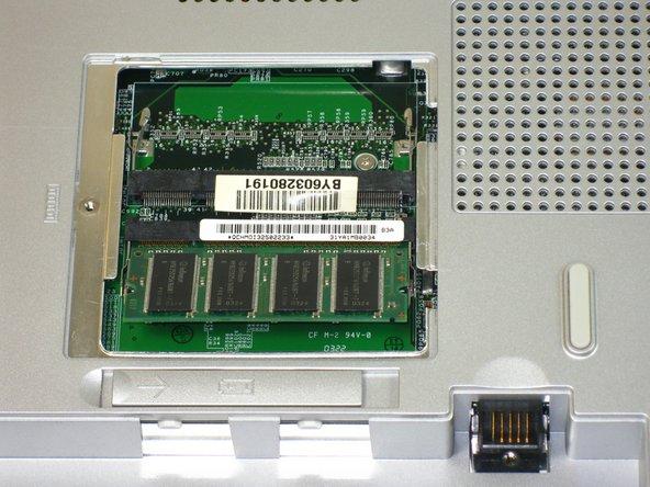Slide memory module out