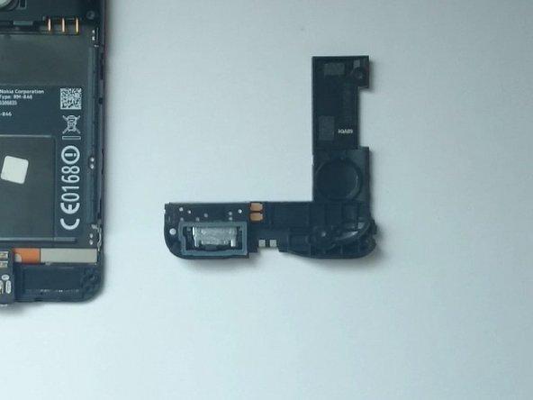 Nokia Lumia 620 Lautsprecher tauschen