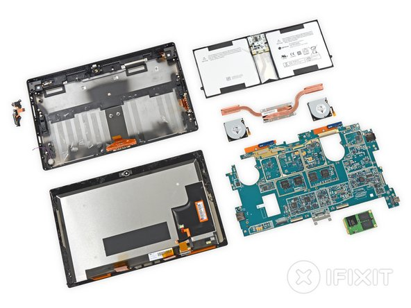 Microsoft Surface Pro 2 Repairability Score: 1 out of 10 (10 is easiest to repair)
