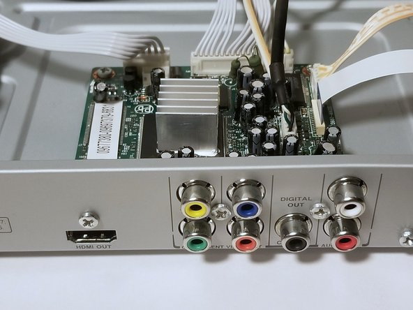 Philips DVP5992-F7 HDMI port Replacement