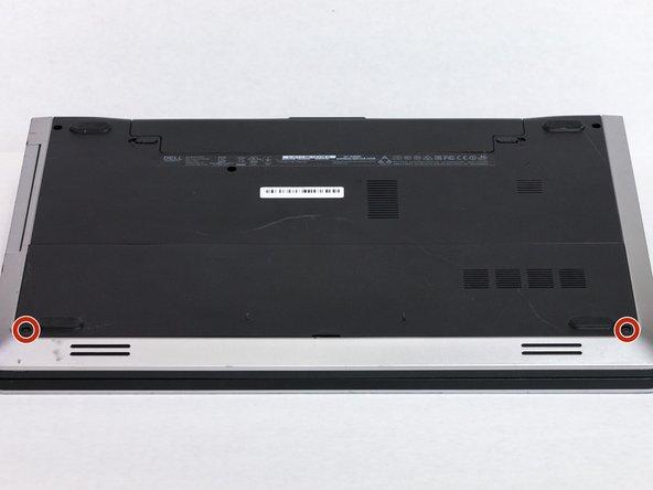 Flip the laptop upside down.