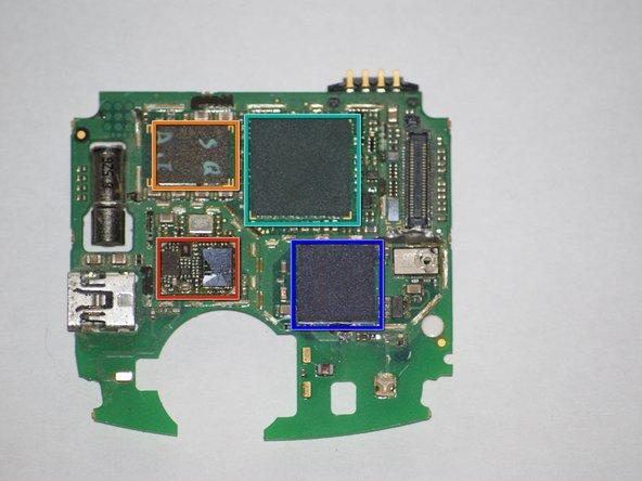 Bluetooth chip by Broadcom.