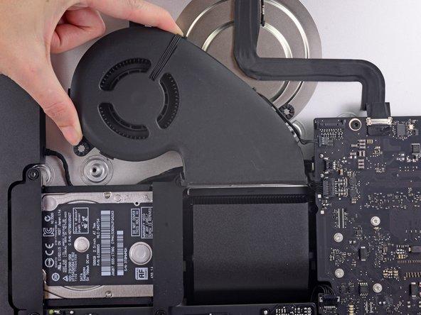 "iMac Intel 21.5"" EMC 2805 Fan Replacement"
