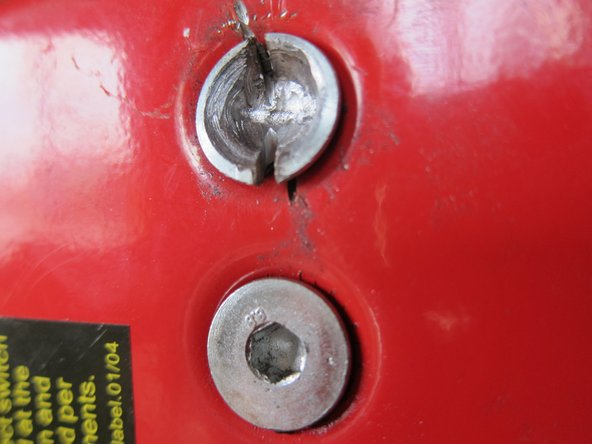 Removing Stripped Counter-Sunk Allen-Key Bolts