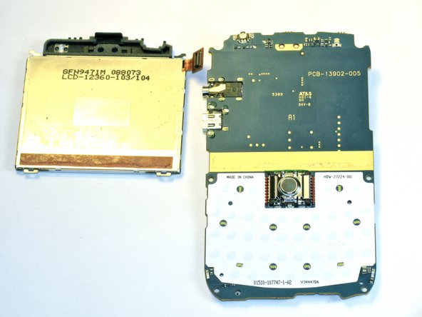 Blackberry Bold 9000 LCD Screen Replacement