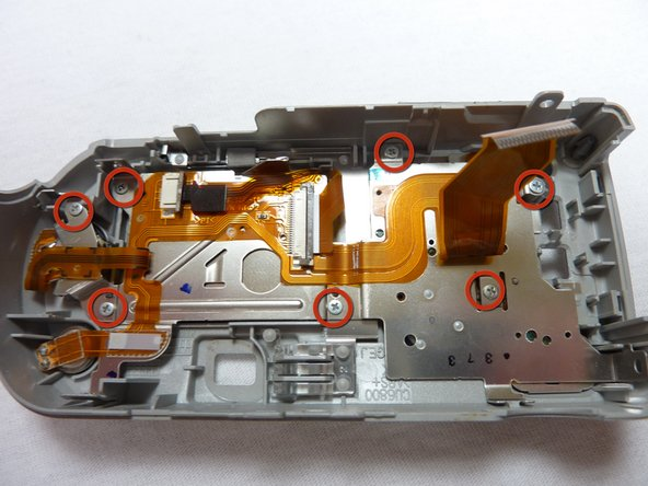 Sony Cyber-shot DSC-P52 LCD Replacement
