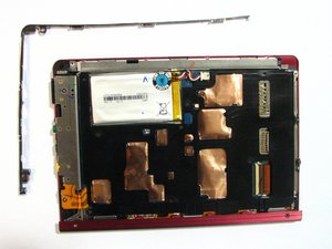 Démontage des panneaux latéral et inférieur du Sony Reader Touch Edition PRS-600