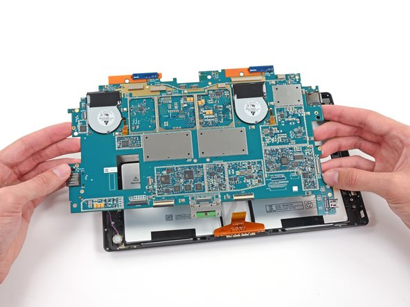 Finally, the motherboard is free and we can get at the fun stuff.