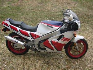 Yamaha FZR1000 Repair