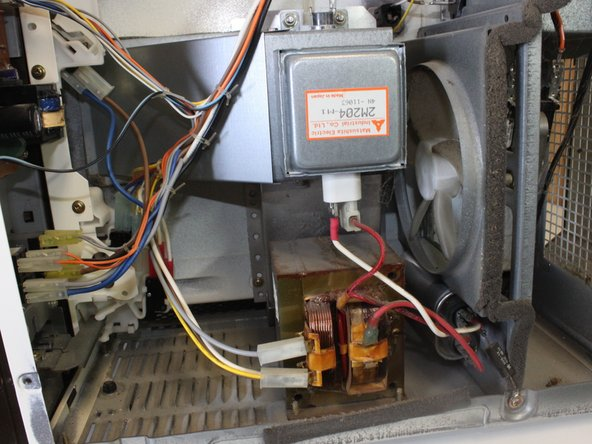 Repairing Quasar Microwave Sparking Inside